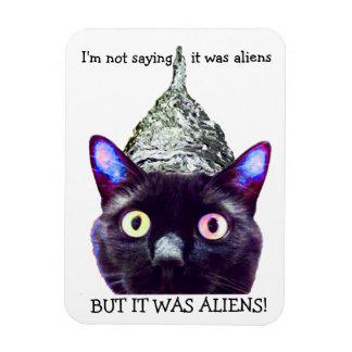 Außerirdische! Katzenmagnet Magnet