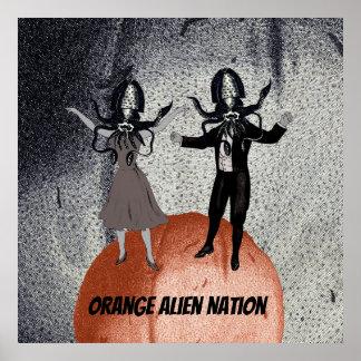 Außerirdischetanzfeier Poster
