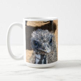 Aussie_Baby_Emu, _White_Coffee_Mug. Kaffeetasse