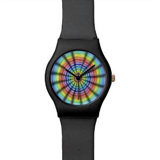 Ausstrahlen der Blume Armbanduhr