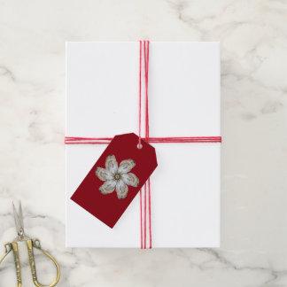 Austern-Blumen-Geschenk-Umbau - entwerfen Sie A Geschenkanhänger