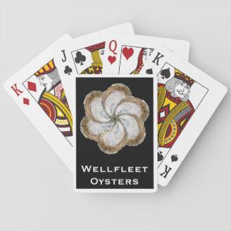 Austern-Blumen-Karten - Entwurf C Spielkarten