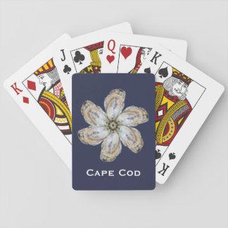 Austern-Blumen-Spielkarten - entwerfen Sie ein Spielkarten