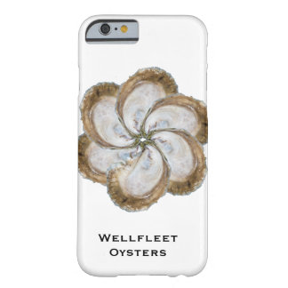 Austern-Blumen-Telefon-Kasten - Entwurf C Barely There iPhone 6 Hülle