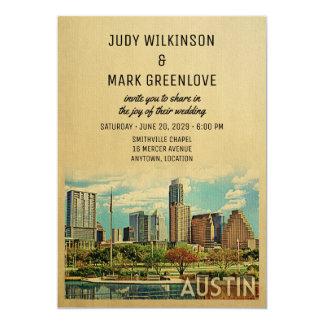 Austin, das Einladung Texas Wedding ist