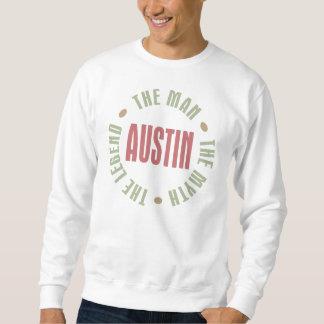 Austin der Mann der Mythos die Legende Sweatshirt