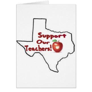 Austin - stützen Sie unsere Lehrer! Karte