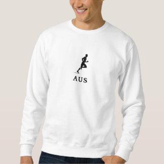 Austin Texas, das AUS laufen lässt Sweatshirt