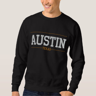 Austin Texas USA stickte Sweatshirts