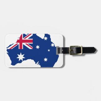Australien Flagge Australia Style Design Gepäckanhänger