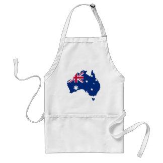 Australien Flagge Australia Style Design Schürze