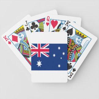 Australien-Flagge Bicycle Spielkarten