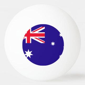 Australien-Flagge Tischtennis Ball