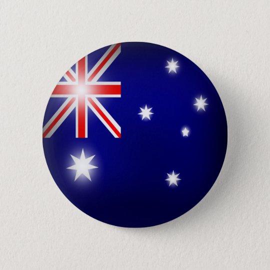 Australien-Flaggen-Knopf Runder Button 5,7 Cm