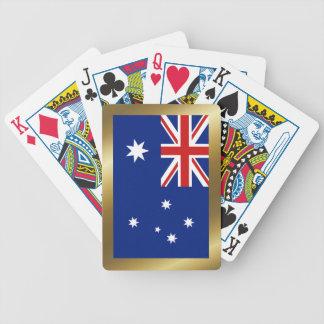 Australien-Flaggen-Spielkarten Bicycle Spielkarten