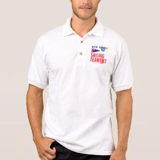 Australien-Flaggen-Wimpel-Segeln-Team nautisch Polo Shirt