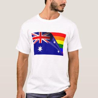 Australien-Gay Pride-Regenbogen-Flagge T-Shirt