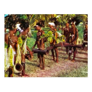 Australien, Stammes- Festival, Neu-Guinea Postkarte