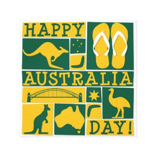 Australien-Tag Leinwanddruck
