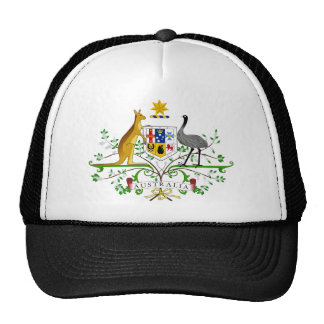 Australien-Wappen Baseballmützen