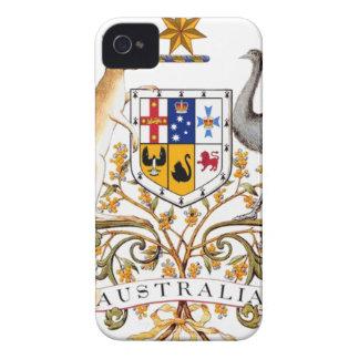 Australien-Wappen iPhone 4 Case-Mate Hülle
