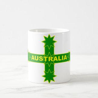 Australier-Eureka-Flagge Kaffeetasse