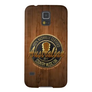 Australische Countrymusik-Fan-Telefon-Hüllen Galaxy S5 Hüllen