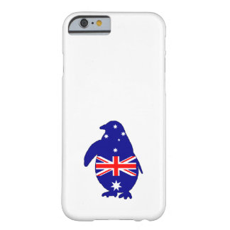Australische Flagge - Pinguin Barely There iPhone 6 Hülle