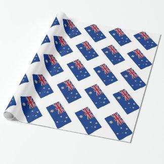 Australische Flaggen-einzigartige ursprüngliche Geschenkpapier