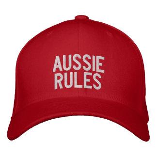 Australische Regeln Bestickte Kappe