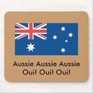 Australischer australischer Australier Oui! … Mauspad