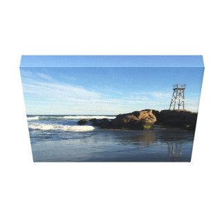 Australischer Küsten-Meerblick Leinwanddruck