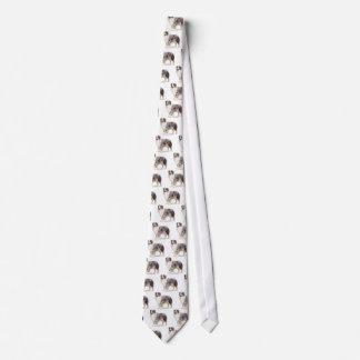 Australischer Schäfer Bedruckte Krawatten