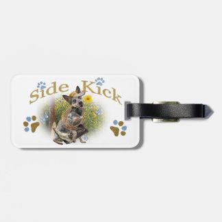 Australischer Vieh-Hundeseiten-Tritt Gepäckanhänger
