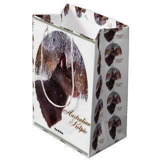 Australisches Kelpie-Weihnachten Mittlere Geschenktüte