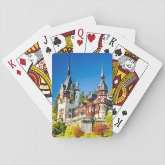 Ausüben von Karten Peles Schloss Sinaia Spielkarten