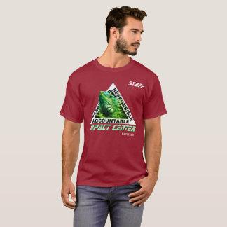 Auswirkung MITTELleguan-Entwurf T-Shirt