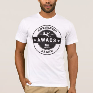 Authentische AWACS-Marke T-Shirt