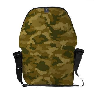 Authentische grüne Armee-MilitärCamouflage-Tarnung Kurier Tasche