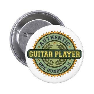 Authentischer Gitarrist Runder Button 5,1 Cm