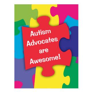 Autismus-Anwälte sind fantastisch Postkarte