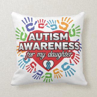 Autismus-Bewusstsein für meine Tochter Kissen