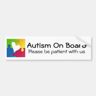 Autismus-Bewusstseins-Autoaufkleber Autoaufkleber