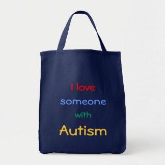 Autismus-Bewusstseins-Taschen-Tasche Tragetasche
