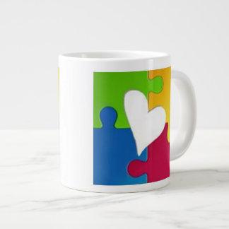 Autismus-Bewusstseins-Tasse Jumbo-Tasse