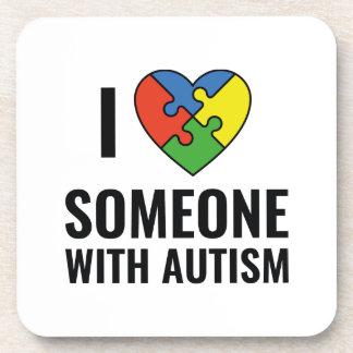 Autismus Getränkeuntersetzer