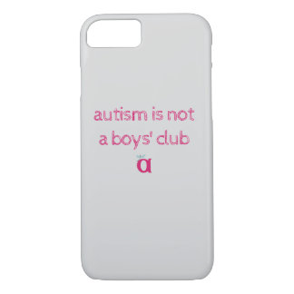 Autismus ist nicht ein flüchtiger Fall des Vereins iPhone 7 Hülle