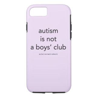 Autismus ist nicht ein Verein der Jungen: iPhone 7 Hülle
