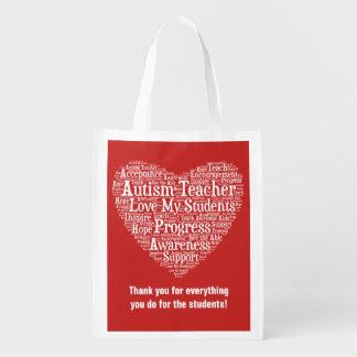 Autismus-Lehrer-Anerkennung - wählen Sie Ihre Einkaufstasche