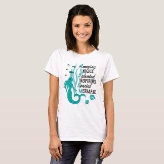 Autismus-MeerjungfrauAcrostic - Annahme und T-Shirt